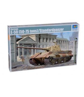 Немецкий танк Е-50 TRUMPETER 01536