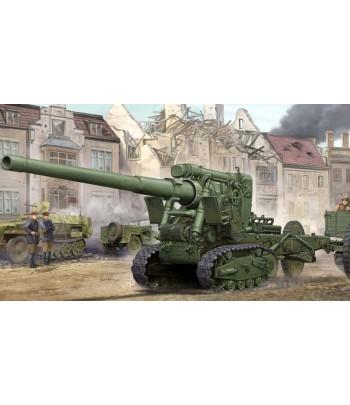 Советская 152-мм гаубица образца 1935 года БР-2 1/35 TRUMPETER 02338