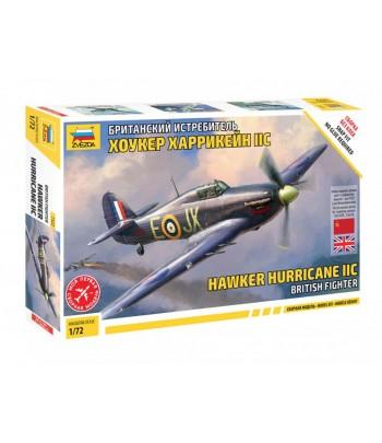 Британский истребитель Хоукер Харрикейн IIC (сборка без клея) ЗВЕЗДА 7322