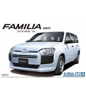Автомобиль Mazda Familia Van NCP160M 2018 1/24 Aoshima 05786