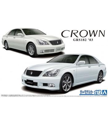 Автомобиль Toyota Crown GRS182 RoyalSaloon G/Athlete G 03 1/24 Aoshima 05793