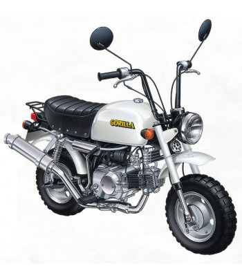 Мотоцикл Honda Gorilla Custom Takegawa (Ver.1) 1/12 Aoshima 05870