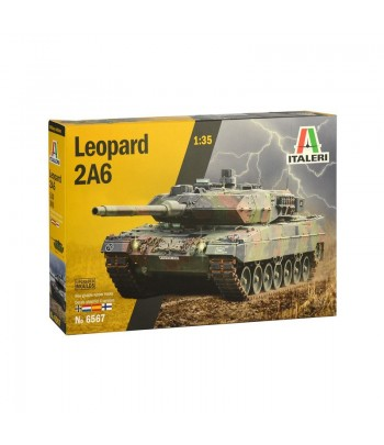 Немецкий танк Леопард 2A6 1/35 ITALERI6567