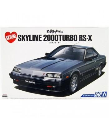Автомобиль Nissan DR30 Skyline HT2000 Turbo Intercooler RS-X '84 1/24 Aoshima 05878