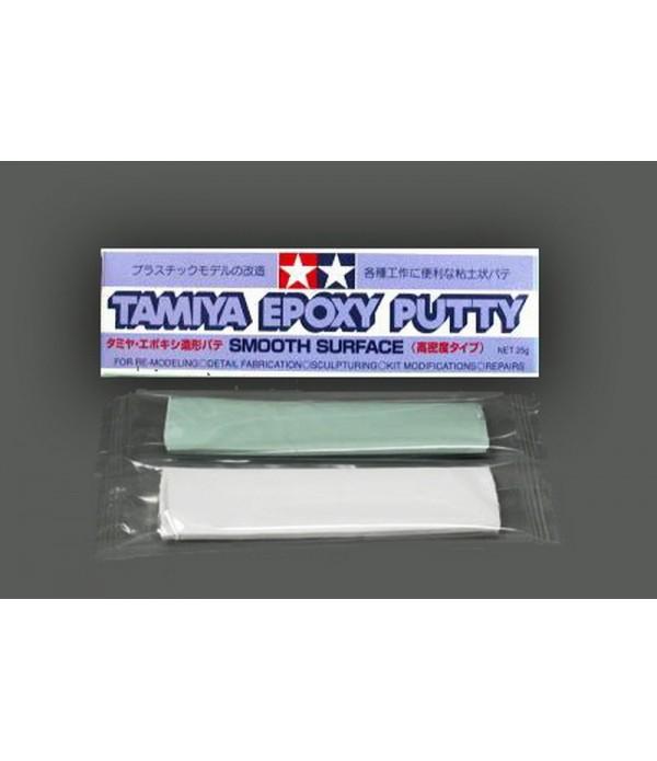 Шпаклевка эпоксидная 25 гр (время застывания 12 ч) фиолетовая упаковка TAMIYA 87052