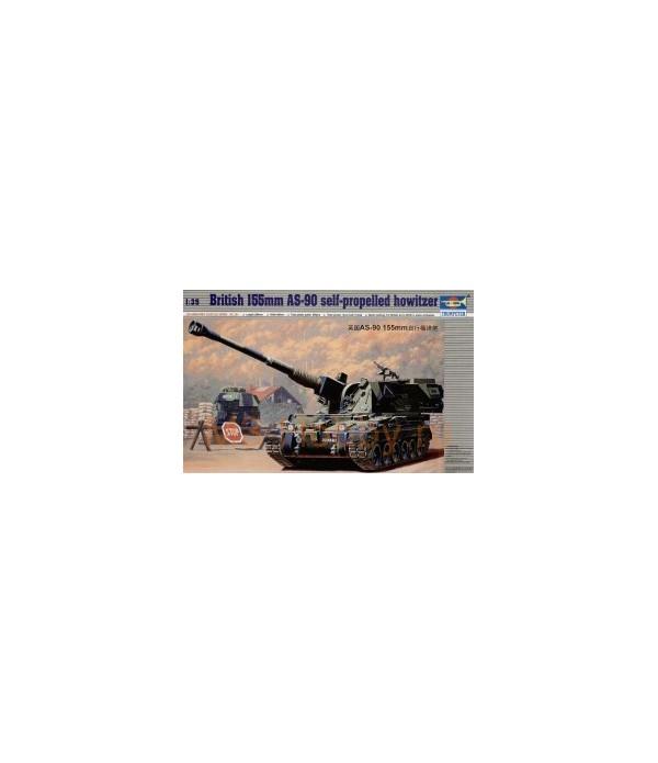 Бронетехника САУ 155 мм. AS-90 TRUMPETER 00324