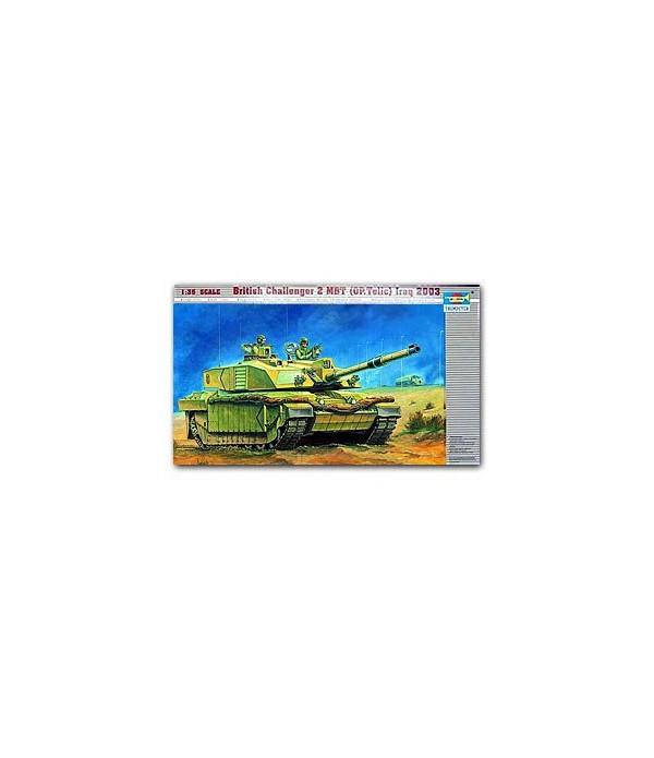 British Challenger II MBT (OP.Telic) Iraq 2003 TRUMPETER 00323