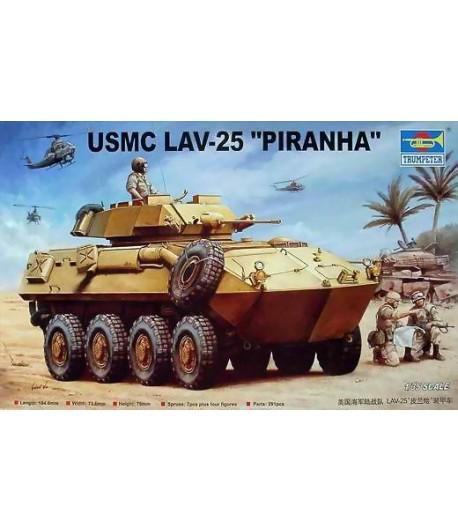 "Бронетехника БТР LAV-25 ""Пиранья"" USMC TRUMPETER 00349"