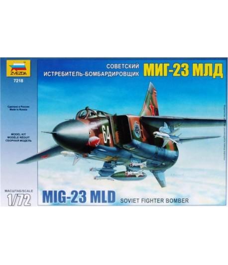 Советский истребитель-бомбардировщик МиГ-23МЛД ЗВЕЗДА 7218