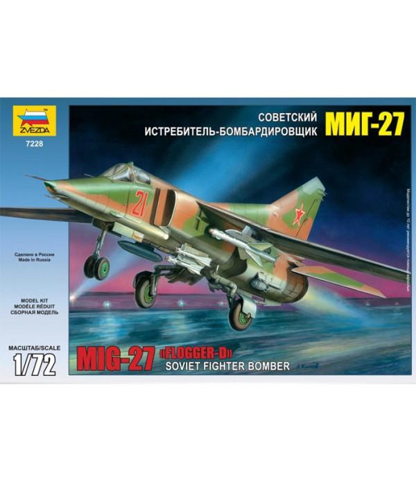 Советский истребитель-бомбардировщик МиГ-27 ЗВЕЗДА 7228