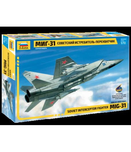 Советский истребитель-перехватчик МиГ-31 ЗВЕЗДА 7229