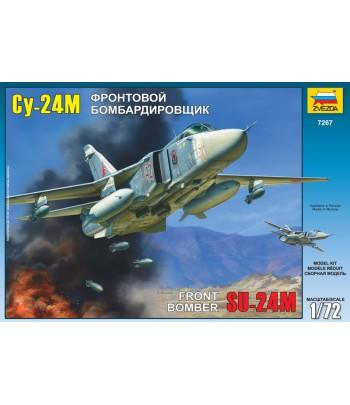Советский фронтовой бомбардировщик Су-24М ЗВЕЗДА 7267
