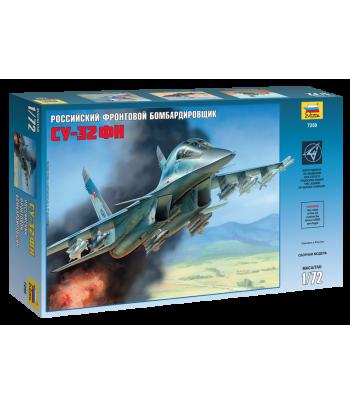Российский фронтовой бомбардировщик Су-32ФН ЗВЕЗДА 7250