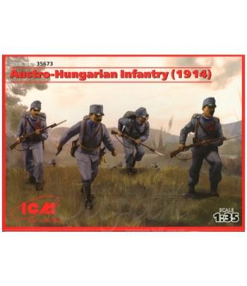 Австро-Венгерская пехота (1914) (4 фигуры) ICM 35673