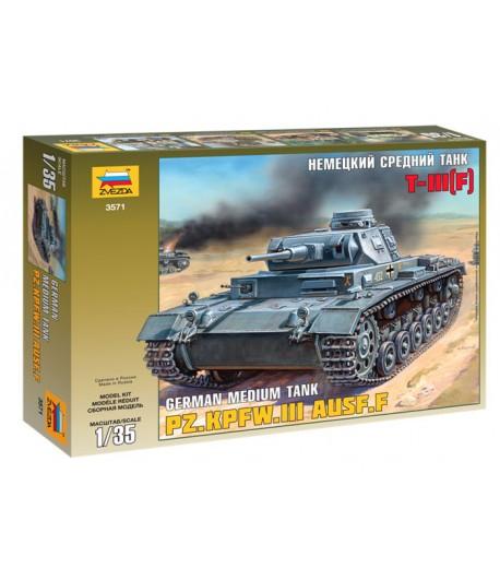 Немецкий средний танк Т-III (F) ЗВЕЗДА 3571
