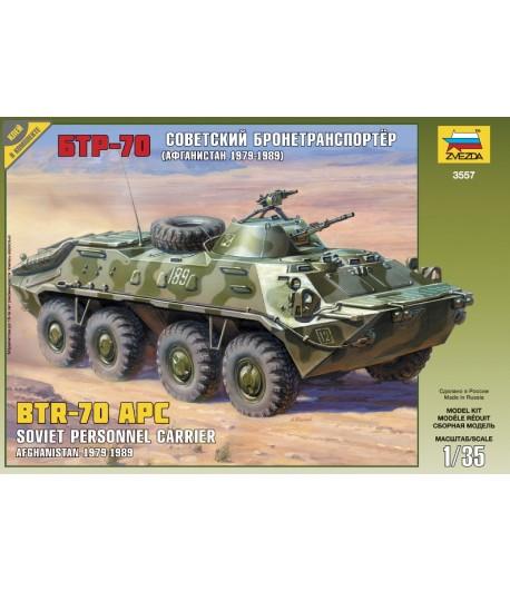 Советский бронетранспортер БТР-70 (Афганская война 1979-1989) ЗВЕЗДА 3557