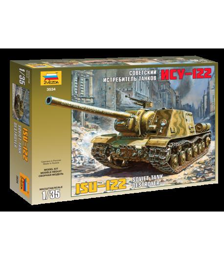 Советский истребитель танков ИСУ-122 ЗВЕЗДА 3534