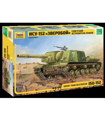 """Советский истребитель танков ИСУ-152 """"Зверобой"""" ЗВЕЗДА 3532"""