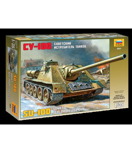 Советский истребитель танков СУ- 100 ЗВЕЗДА 3531