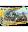 Советский средний танк Т-34/76 с минным тралом ЗВЕЗДА 3580