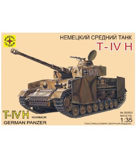 German Pz.Kpfw.IV Ausf/H4 МОДЕЛИСТ 303503