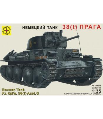 Танк 38(t) «Прага» (1:35) МОДЕЛИСТ 303538