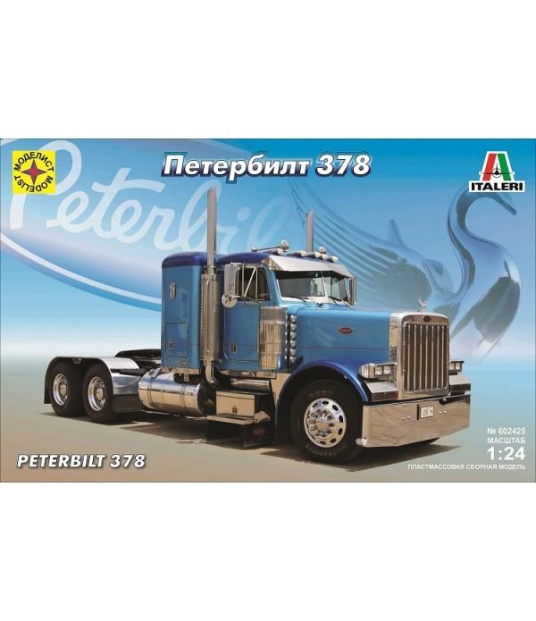 Автомобиль Петербилт 378 (1:24) МОДЕЛИСТ 602425