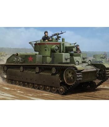 Советский средний танк T-28 (сварной) HOBBY BOSS 83852