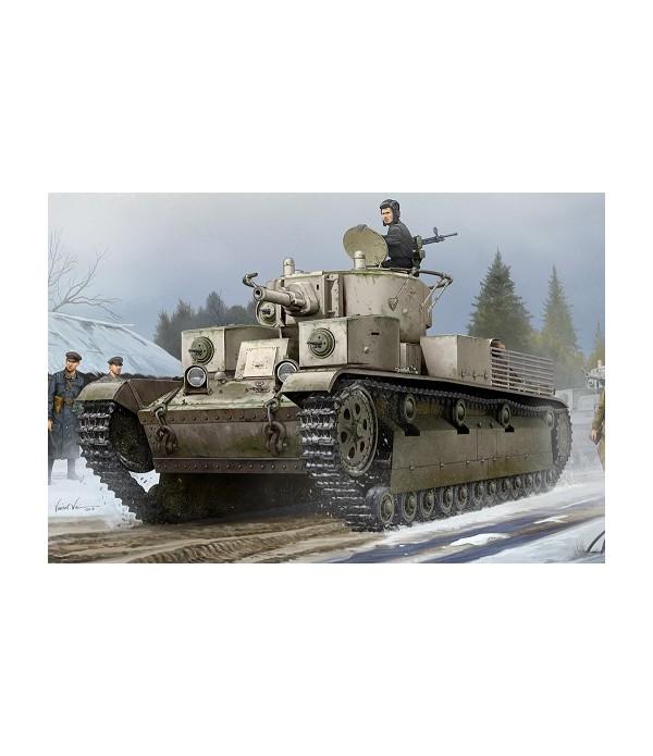 Советский средний танк T-28 (клепанный) HOBBY BOSS 83853