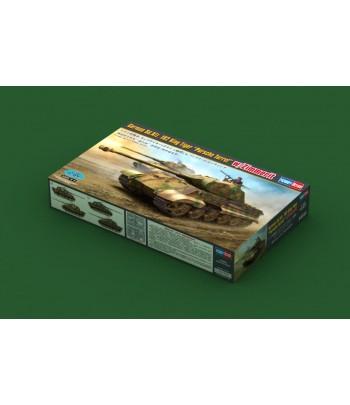 "German Sd.Kfz.182 King Tiger ""Porsche Turret"" w/ Zimmerit HOBBY BOSS 84530"
