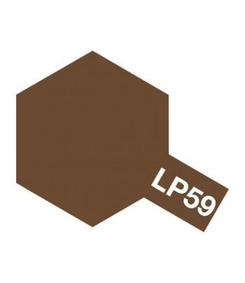 LP-59 NATO brown (Коричневая НАТО) лаковая краска 10 мл. TAMIYA 82159