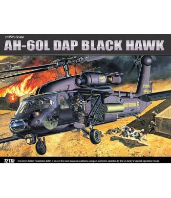 ВертолетAH-60LDAPBLACKHAWKACADEMY12115