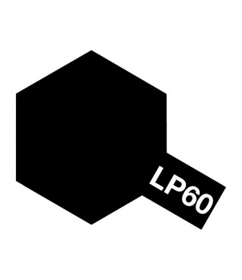 LP-60 NATO black (Черная НАТО) лаковая краска 10 мл. TAMIYA 82160