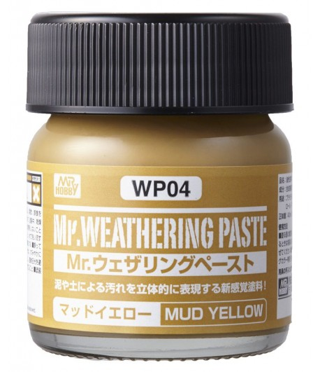 WP04 Текстурная паста MR.WEATHERING PASTE MUD YELLOW 40 мл GUNZE SANGYO