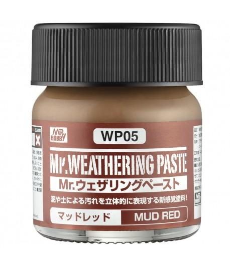 WP05 Текстурная паста MR.WEATHERING PASTE MUD RED 40 мл GUNZE SANGYO