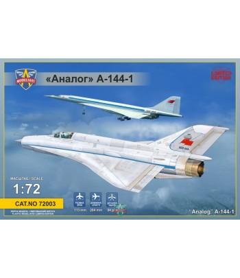 """Аналог"" А-144-1 (МиГ-21 первый прототип) MODELSVIT 72003"