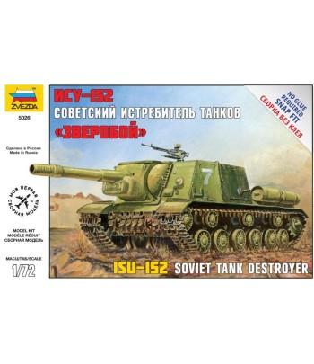 """Советский истребитель танков ИСУ-152 """"Зверобой"""" ЗВЕЗДА 5026"""