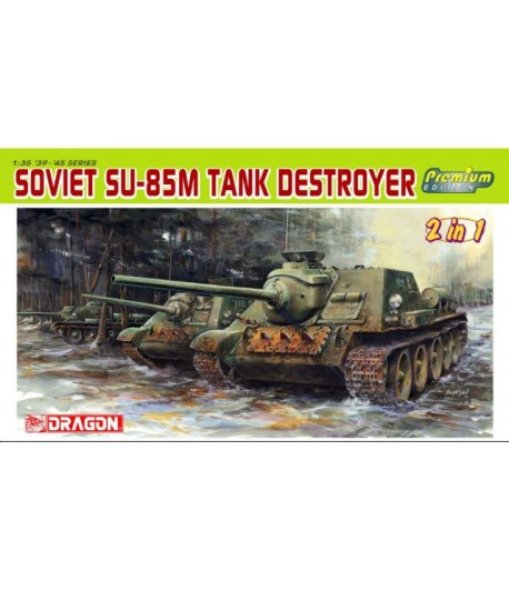 Soviet SU-85M Destroyer 1/35 DRAGON 6415