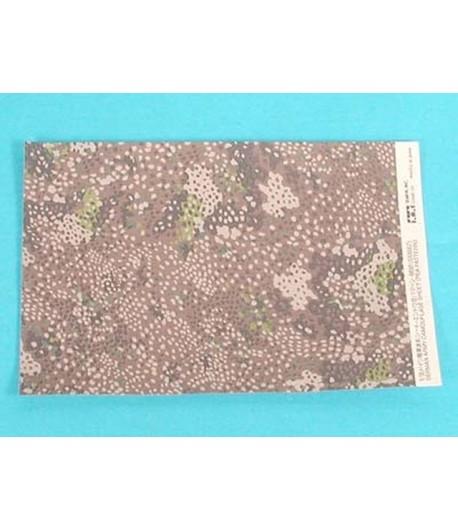 German Army Camouflage Sheet (Pea Pattern) TAMIYA 66581