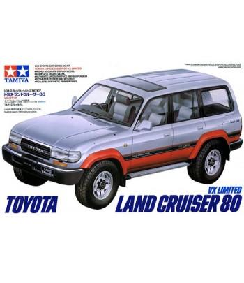 Автомобиль Toyota Land Cruiser 80 VX Limited TAMIYA 24107