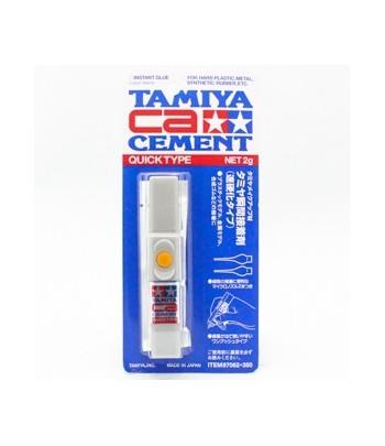 Быстросохнущий универсальный цианакрилатовый клей (Quick type), 2 г. TAMIYA 87062