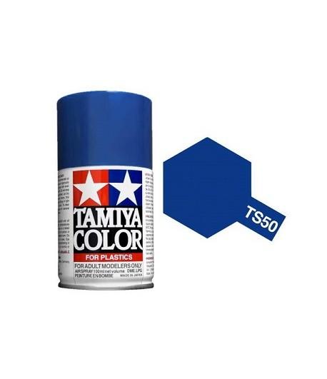 TS-50 Mica Blue (Синяя слюда) краска-спрей 100 мл. TAMIYA 85050