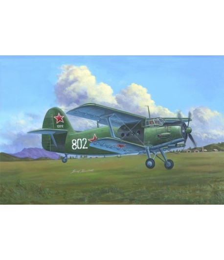 Самолет Antonov AN-2/AN-2CX Colt HOBBY BOSS 81705