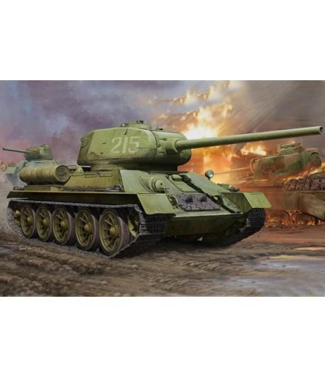 Советский средний танк Soviet T-34/85 1:16 HOBBY BOSS 82602