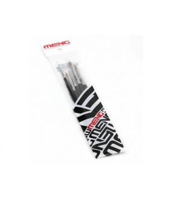 Набор кистей Set of brushes (5pcs) MENG TS-010