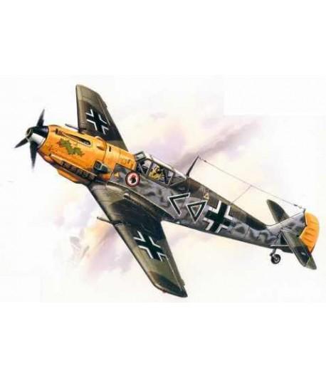 Bf-109 E-4, германский истребитель ІІ Мировой войны ICM 72132
