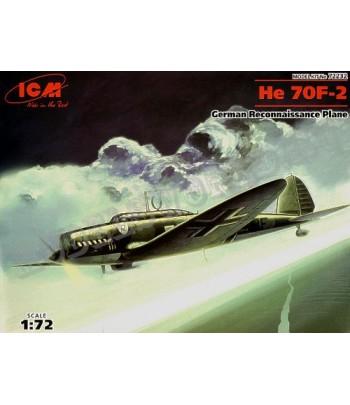 He 70F-2 Германский Самолет-Разведчик ICM 72232
