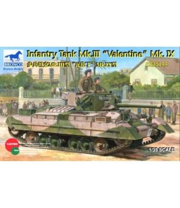 Британский пехотный танк Mk.III «Валентайн» 1/35 BRONCO CB35144