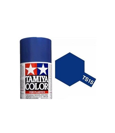 TS-15 Blue (Синяя) краска-спрей 100 мл. TAMIYA 85015