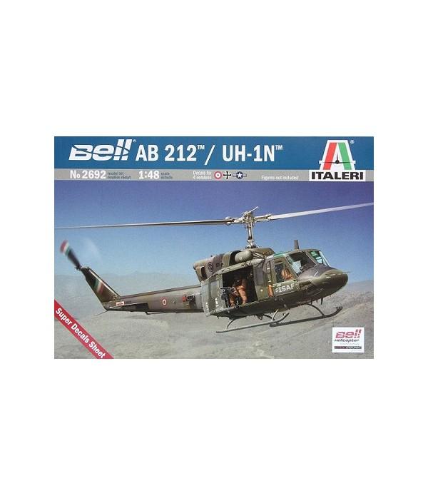 Вертолёт Bell AB212/UH 1N ITALERI 2692